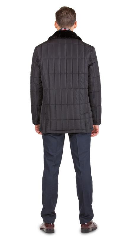 Верхняя одежда мужская HISTORIA Куртка утепленная черная WJ.B.Cri004 - фото 3