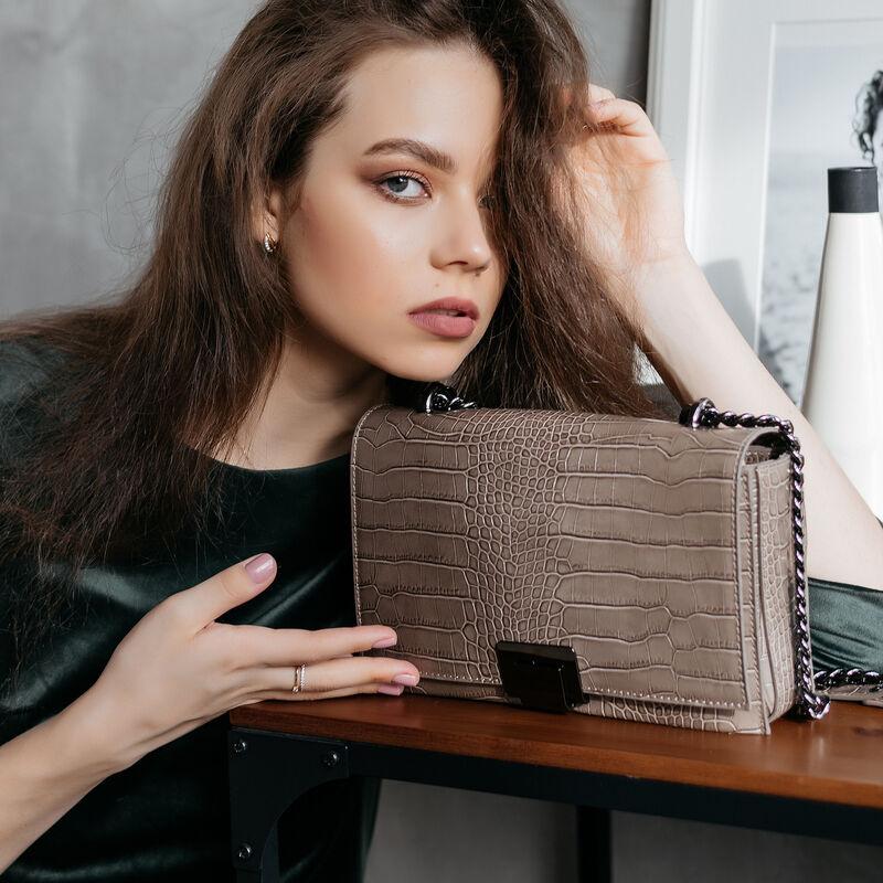 Магазин сумок Vezze Кожаная женская сумка C00558 - фото 1