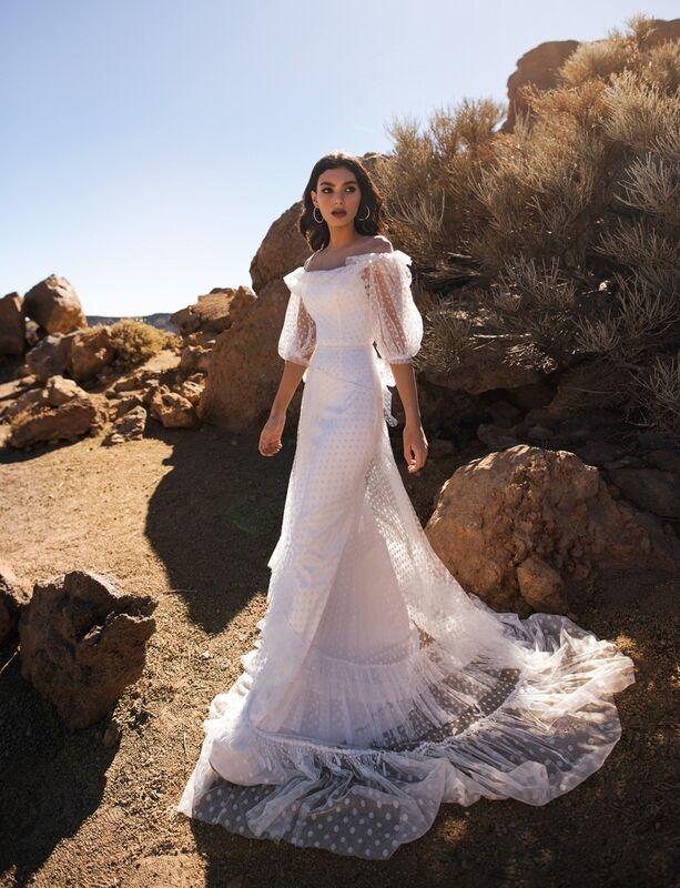 Свадебное платье напрокат Blammo-Biamo Свадебное платье Dream Ocean Gendzi - фото 1