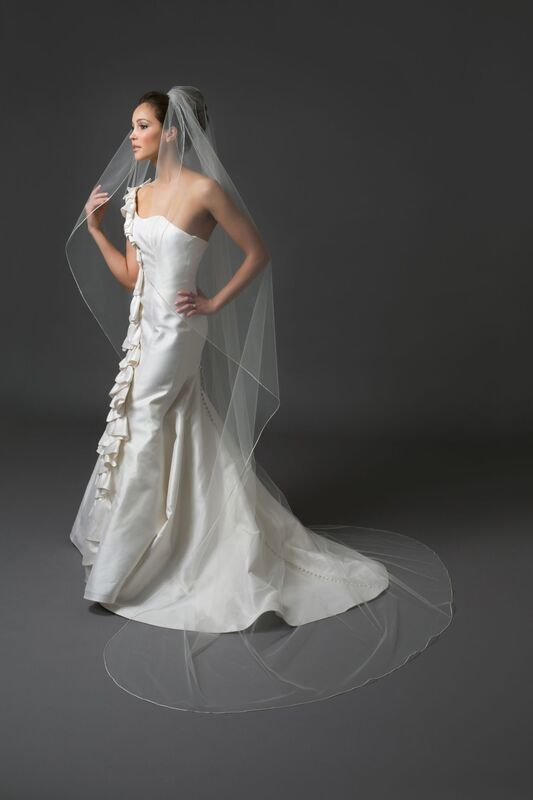 Свадебный аксессуар Bliss Свадебная фата Infinity - фото 1