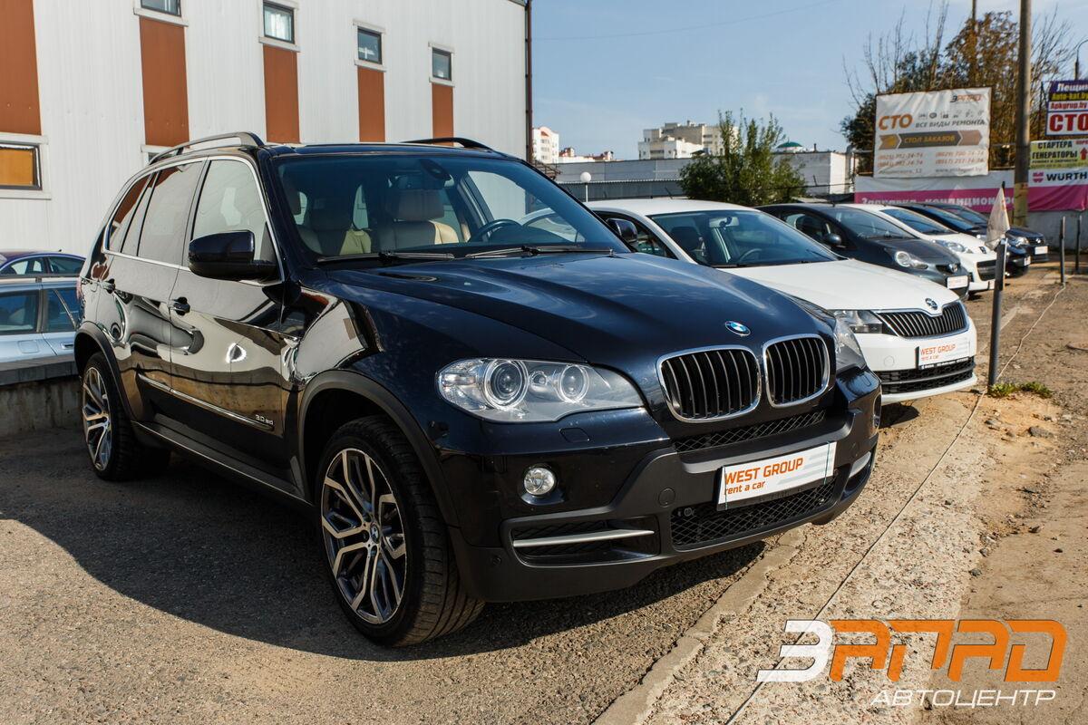 Прокат авто BMW X5 (кузов E70) 2009 - фото 1