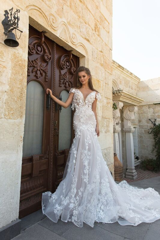 Свадебный салон Eva Lendel Свадебное платье Paiton - фото 1