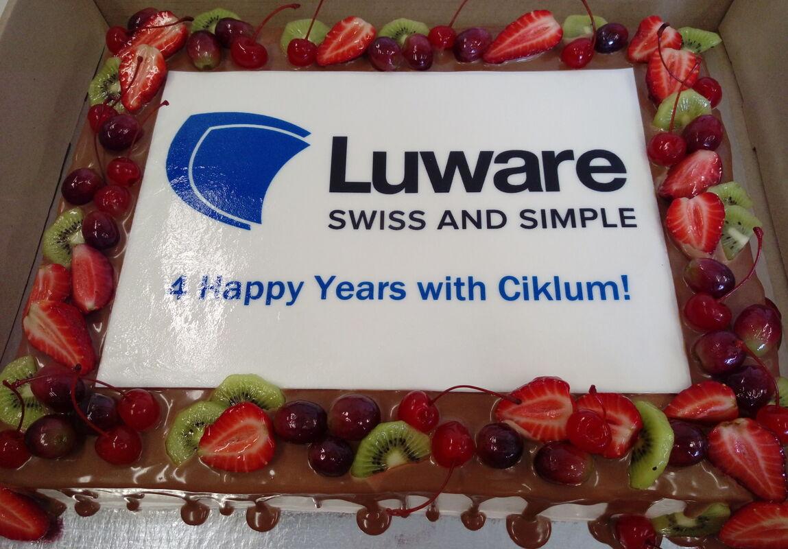 Торт DOLCE Корпоративный торт «Luware» - фото 1