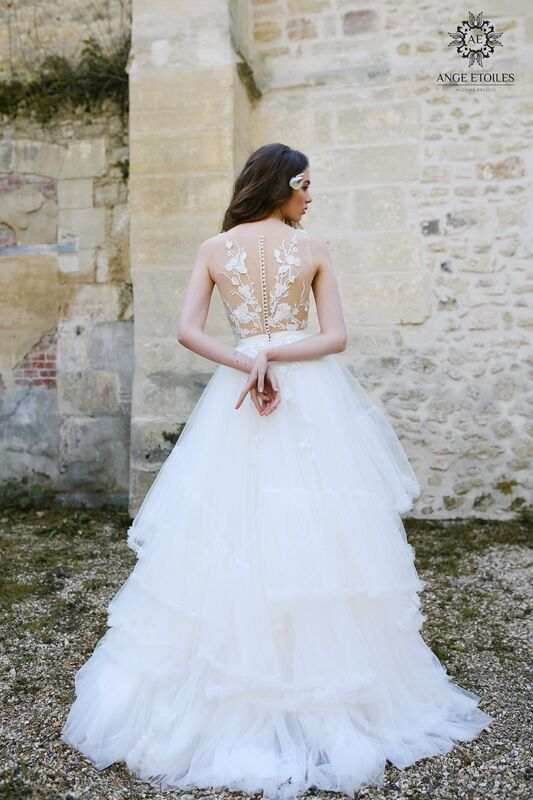 Свадебное платье напрокат Ange Etoiles Платье свадебное AEriality Collection  Alin - фото 1