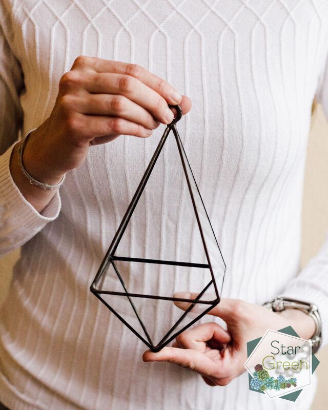 """Магазин цветов StarGreen Флорариум """"Подвесная пирамида"""" - фото 1"""