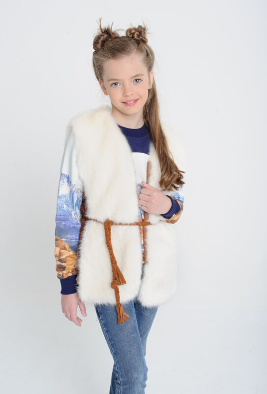 Пиджак, жакет и жилетка детские Bell Bimbo Жилет для девочки 173027 - фото 1