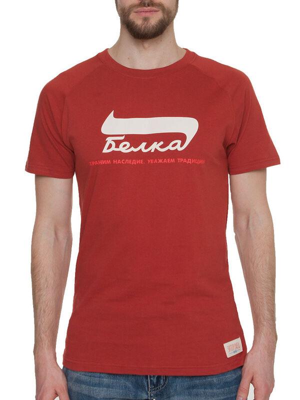 Кофта, рубашка, футболка мужская Запорожец Футболка «Belka» SKU0105000 - фото 1