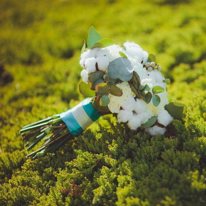 Магазин цветов Lia Свадебный букет №38 - фото 1
