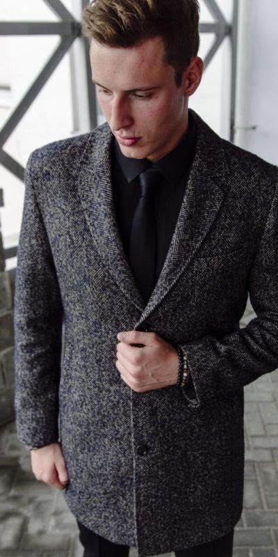 Верхняя одежда мужская Sezzar Пальто мужское 6 - фото 1