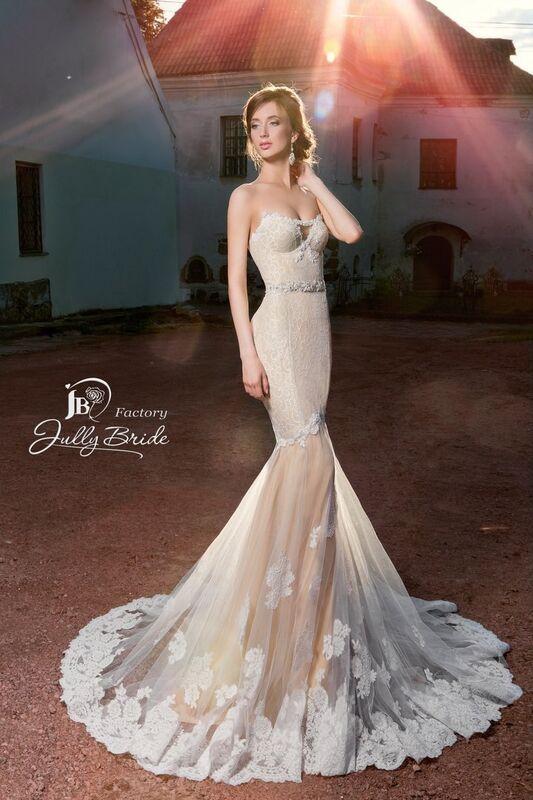 Свадебное платье напрокат Jully Bride Factory Платье свадебное Malibu - фото 1