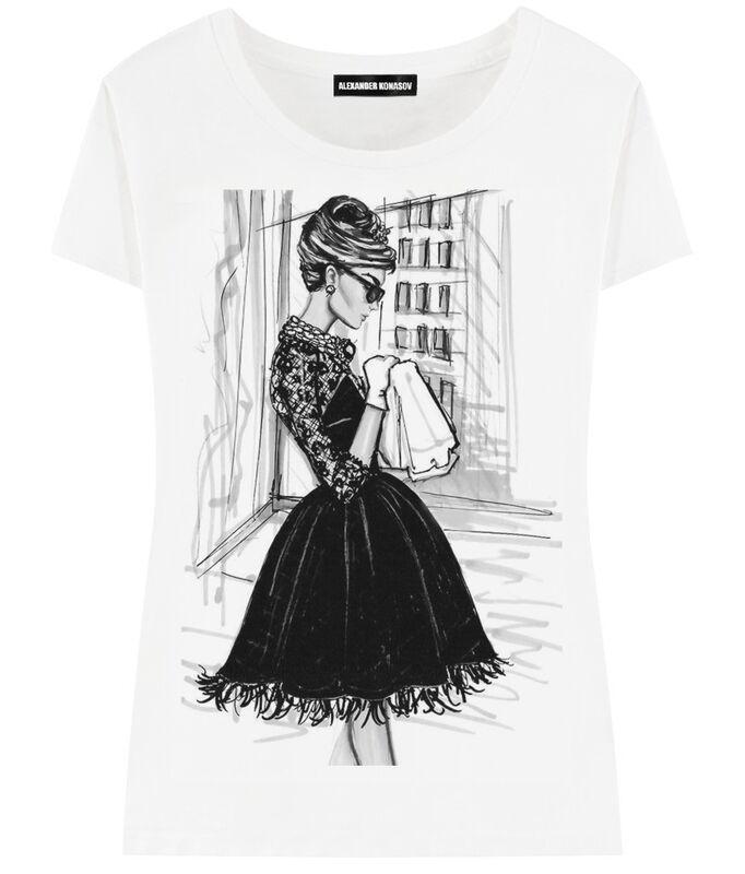 Кофта, блузка, футболка женская ALEXANDER KONASOV Футболка женская 12 - фото 1