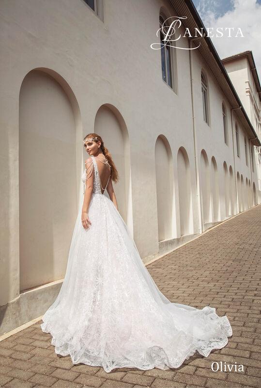 Свадебный салон Lanesta Свадебное платье Olivia - фото 2