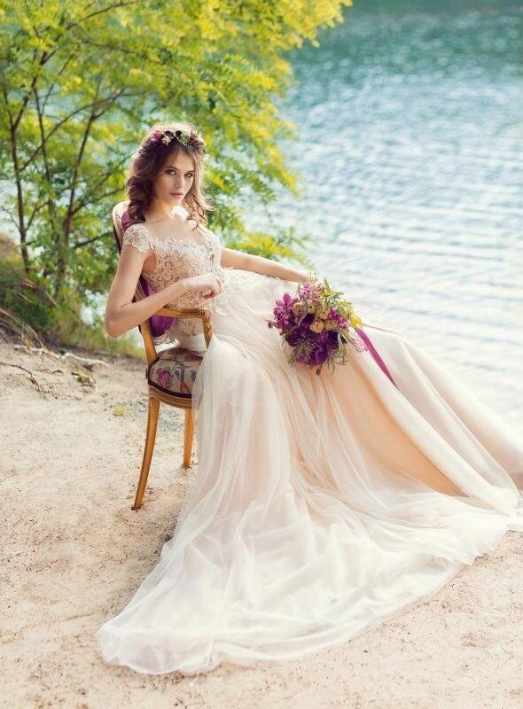 Свадебный салон Papilio Свадебное платье «Йора» 1746L - фото 1