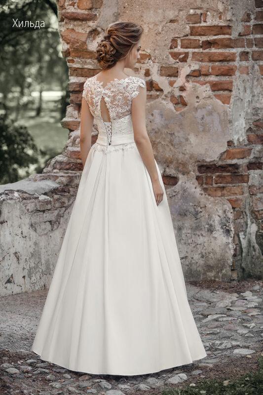 Свадебное платье напрокат Vintage Платье свадебное «Хильда» - фото 2