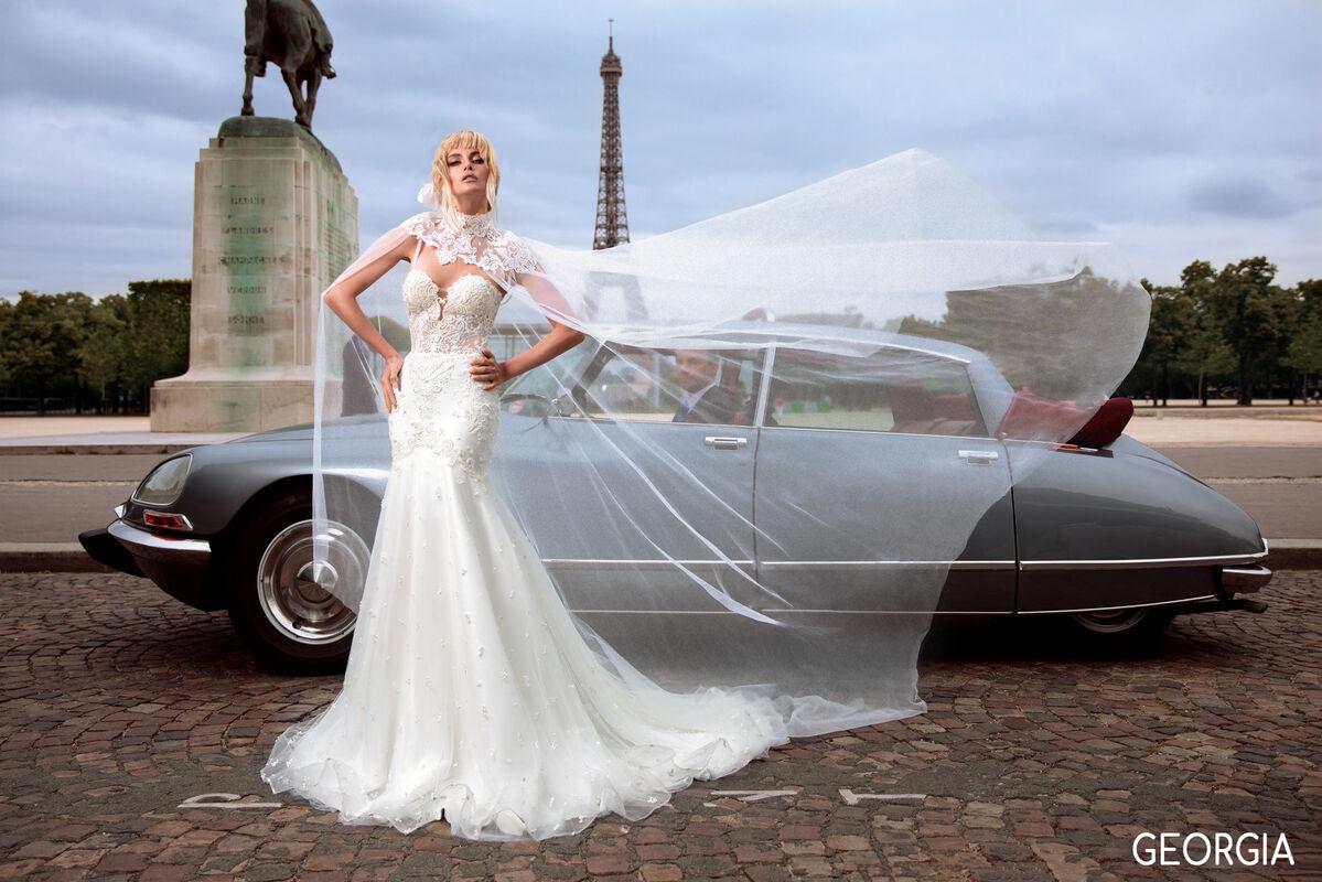 Свадебный салон Bonjour Galerie Платье свадебное GEORGIA из коллекции BON VOYAGE - фото 4