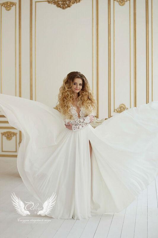 Свадебный салон ALIZA Свадебное платье «Bojena» Ameli Benya - фото 4