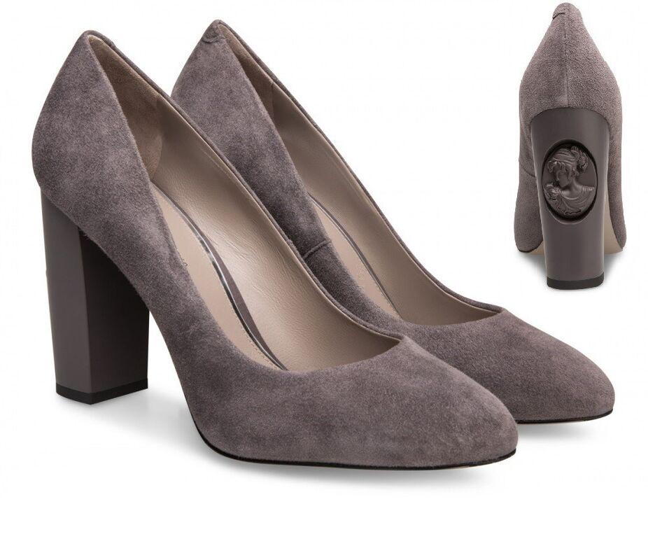 Обувь женская Alla Pugachova Туфли женские AP1728-01 vintage gray - фото 1