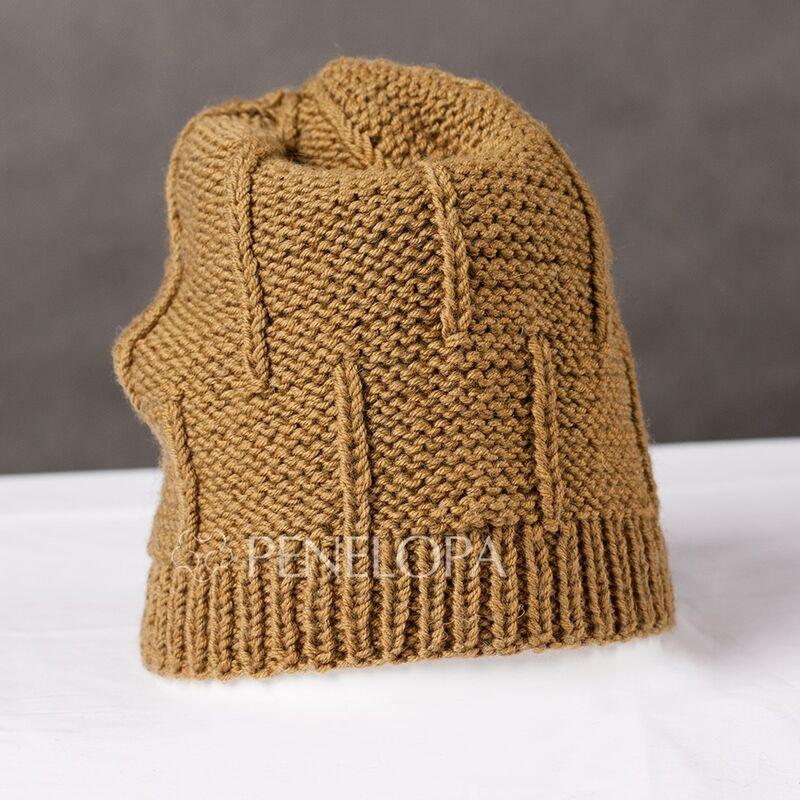 Головной убор PENELOPA Горчичная шапка M107 - фото 1