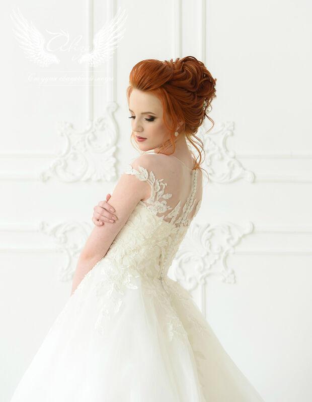 Свадебное платье напрокат ALIZA Платье свадебное «Leila» Ameli Benya - фото 3