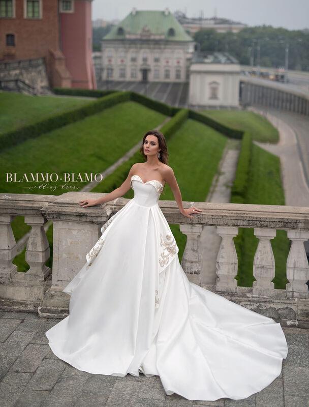 Свадебное платье напрокат Blammo-Biamo Платье свадебное The Rice Reinis - фото 1