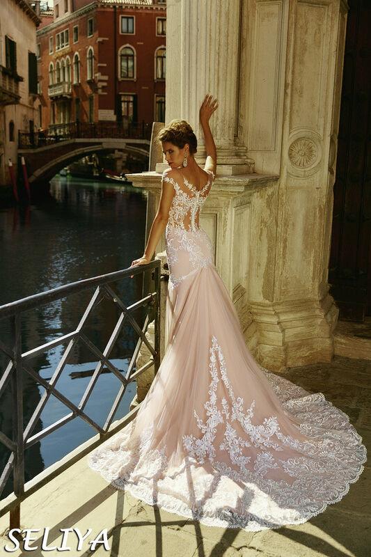 Свадебное платье напрокат Bonjour Galerie Платье свадебное Seliya из коллекции La Douceur - фото 2