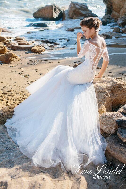 Свадебное платье напрокат Eva Lendel Свадебное платье Donna - фото 3