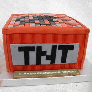 Торт Студия Людмилы Мостаковой Торт «Minecraft» - фото 1
