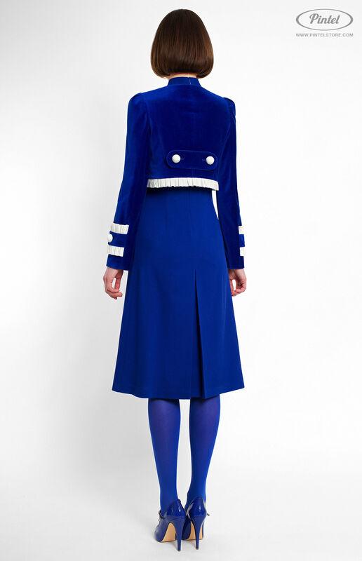 Костюм женский Pintel™ Элегантный комбинированный костюм Momö - фото 3