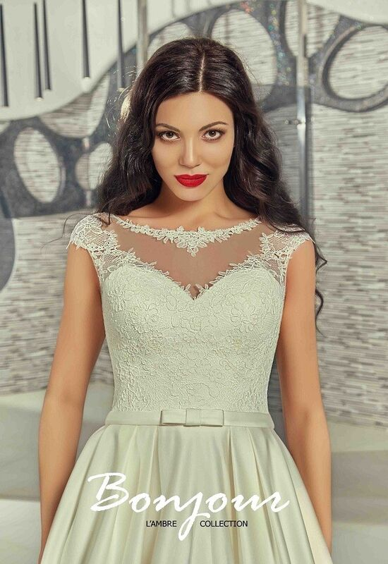 Свадебное платье напрокат Bonjour Платье свадебное «Betsi» из коллекции LAMBRE 2017 - фото 3