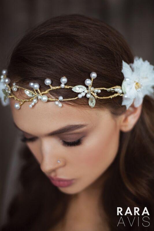 Свадебный аксессуар Rara Avis Украшение для волос №6 - фото 3
