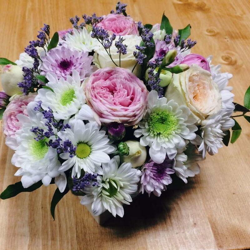 Магазин цветов Кошык кветак Коробочка классическая - фото 1