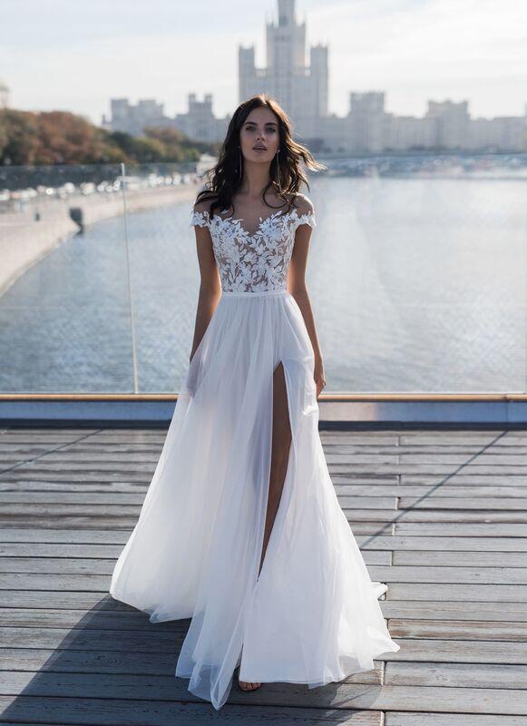 Свадебное платье напрокат Natalia Romanova Свадебное платье  Dzhina - фото 1
