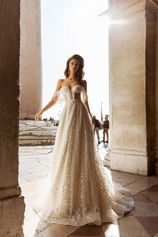 """Свадебное платье напрокат ALIZA свадебное платье """"Bettini"""" - фото 4"""