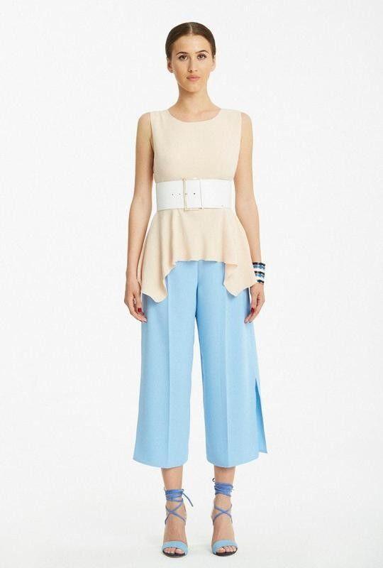 Кофта, блузка, футболка женская Elisabetta Franchi Топ TO7374345 - фото 1