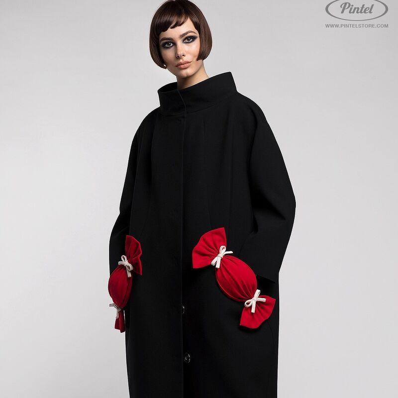Верхняя одежда женская Pintel™ Пальто свободного силуэта Davine - фото 1