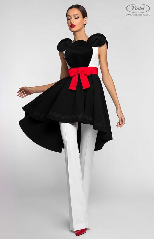 Костюм женский Pintel™ Костюм из платья и брюк DEEPSHIKA - фото 2