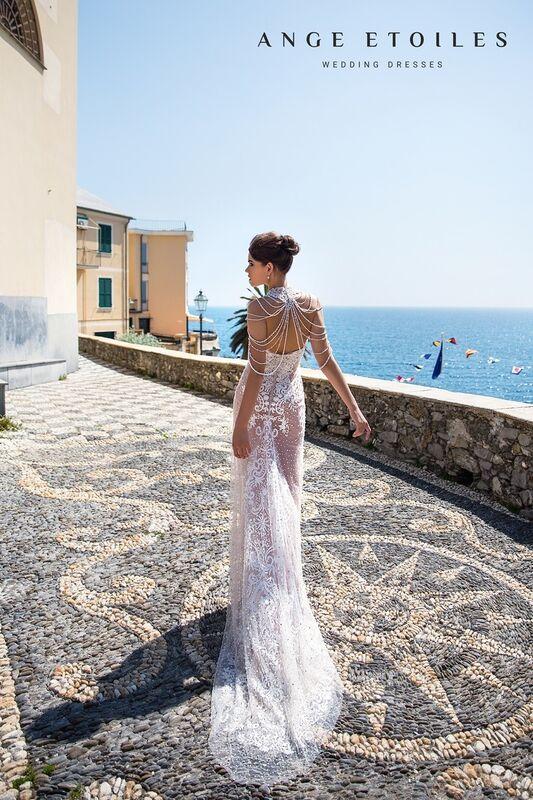 Свадебное платье напрокат Ange Etoiles Свадебное платье Ali Damore Beylia - фото 2