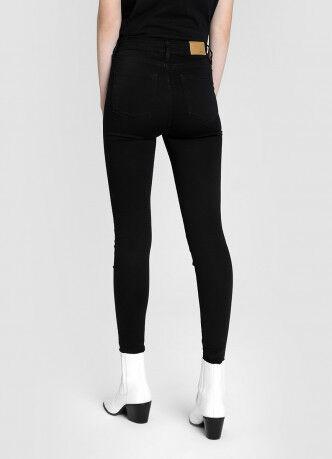 Брюки женские O'STIN Базовые суперузкие джинсы с высокой посадкой LPD108-99 - фото 2