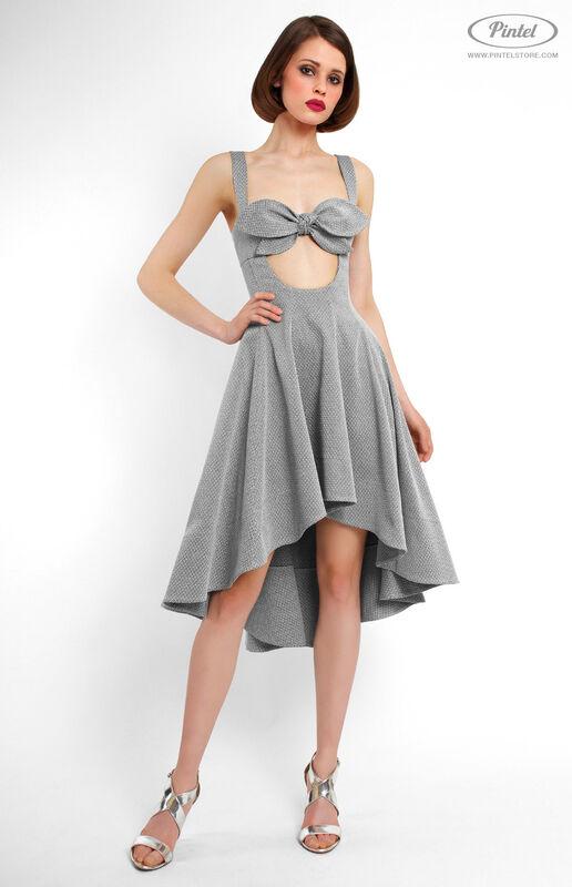 Платье женское Pintel™ Приталенное платье-сарафан Jeetelle - фото 1