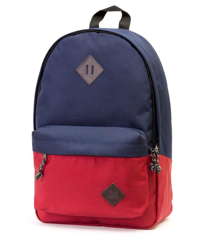Магазин сумок Studio 58 Рюкзак молодежный синий/красный 310 - фото 1