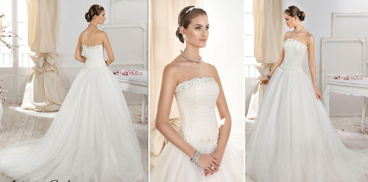 Свадебный салон Fara Sposa Свадебное платье 5501 - фото 2