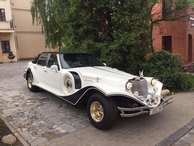 Прокат авто Excalibur Белый - фото 1