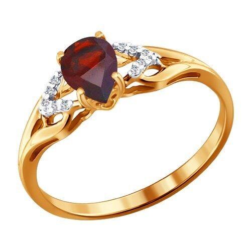 Ювелирный салон Sokolov Золотое кольцо 713829 - фото 1