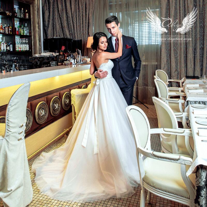 Свадебный салон ALIZA Платье свадебное «Samanta» Ameli Benya - фото 6