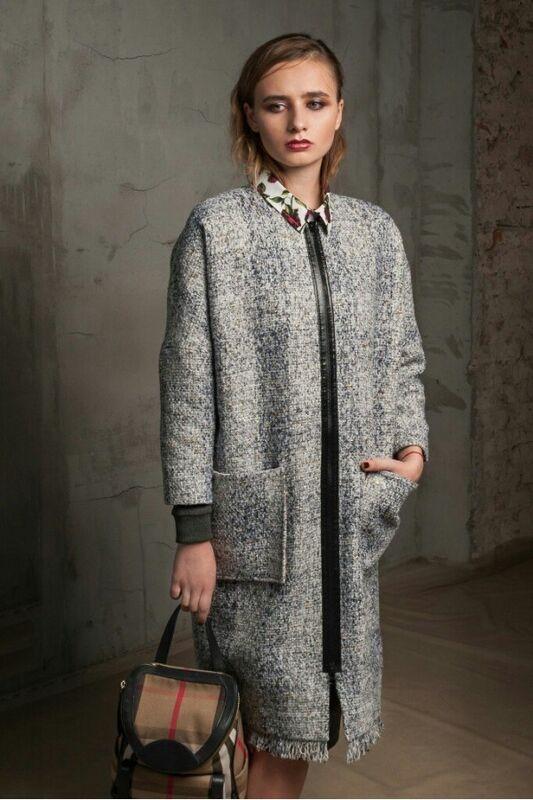 Верхняя одежда женская MISUTERI Пальто Seru Grey MSS0093 - фото 2