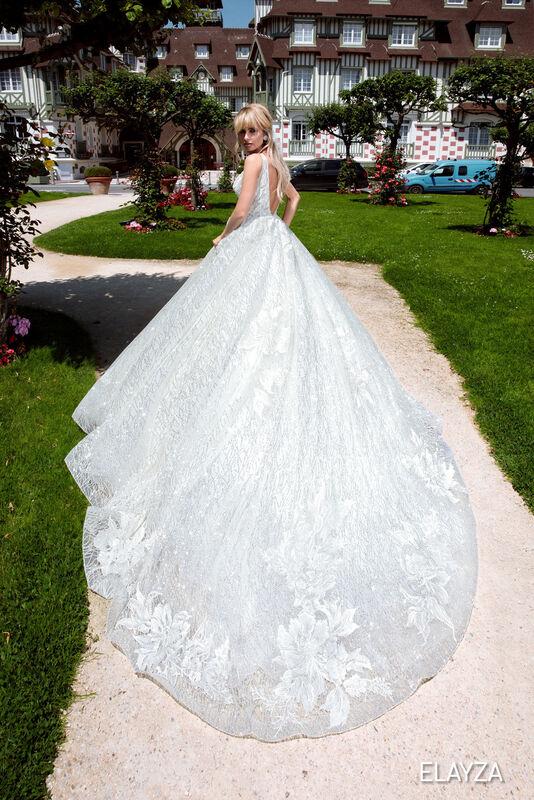 Свадебный салон Bonjour Galerie Свадебное платье ELAYZA из коллекции BON VOYAGE - фото 4