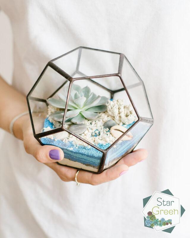 Магазин цветов StarGreen Море в шаре - фото 1