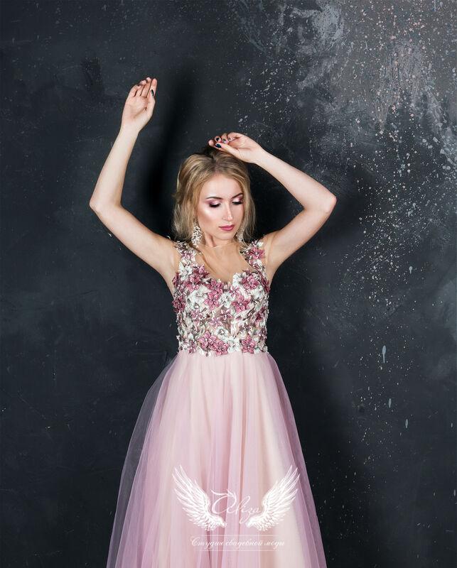 """Вечернее платье ALIZA Вечернее платье """"Rose"""" - фото 2"""