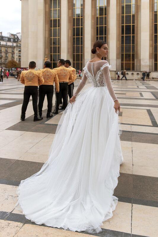 """Свадебное платье напрокат ALIZA свадебное платье """"Rossy"""" - фото 3"""