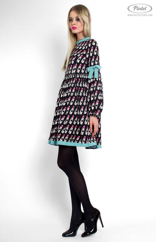 Платье женское Pintel™ Мини-платье свободного силуэта Berenitaä - фото 2
